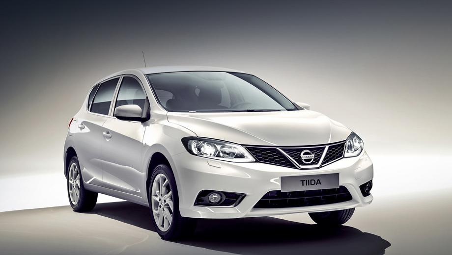 Хэтчбек Nissan Tiida нового поколения он же Pulsar