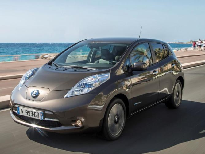Новый Nissan Leaf сможет преодолеть дистанцию более 500 км