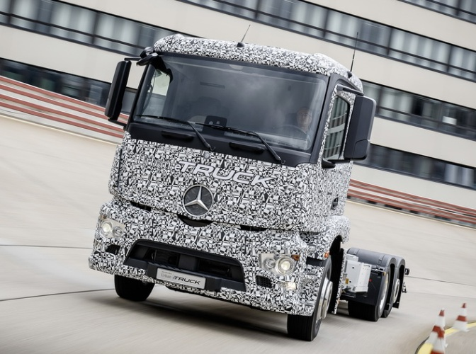 Электрический грузовик Urban eTruck